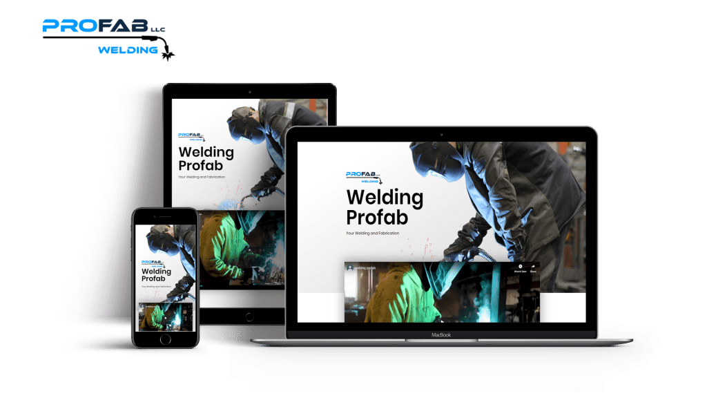 An optimized Website for our client Welding Profab1